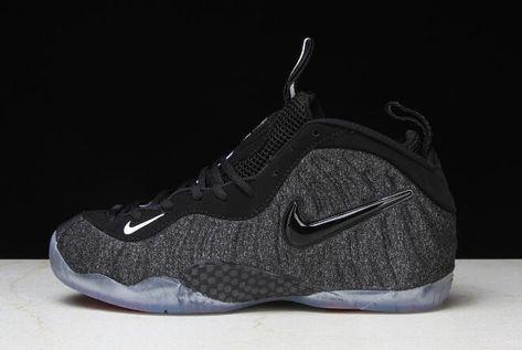 "c431a3339a054 Nike Air Foamposite Pro ""Tech Fleece"" Dark Grey Heather Black-Black  624041-007"