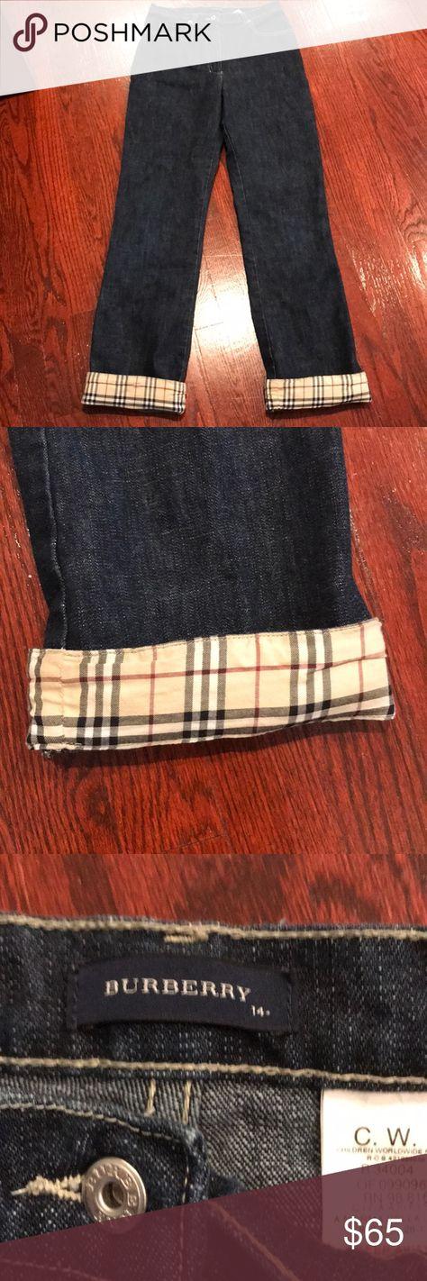 d866289738ea Burberry Kids Jeans size 14 🍁 Burberry kids jeans size 14. Excellent  condition