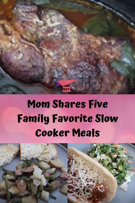 Mom Shares Five Family Favorite Slow Cooker Meals