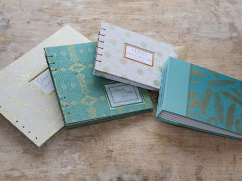 Bespoke Coptic Guest Books by TheEloiseBindery on Etsy