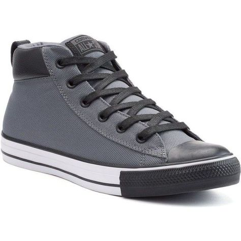 45ecab2fd Mens Converse Chuck Taylor All Star Street Mid Sneakers ( 60) ❤ liked on…