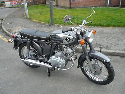 Ebay Honda Cd175a5 Cd175 Sloper 1967 Fully Restored Classic Motorcycles Honda Honda Motorbikes