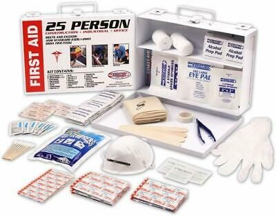 Details About Stark Emergency First Aid 25 Person 166 Pieces Ansi Osha Compliant First Aid K In 2020 First Aid First Aid Kit Emergency Kit
