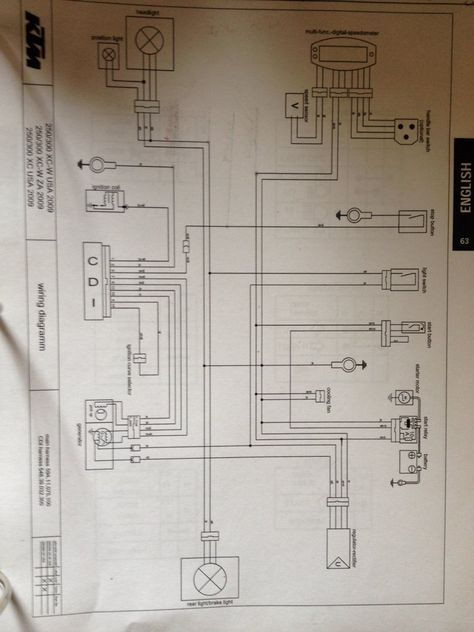 2007 ktm 450 wiring diagram  wiring diagram snailexplained