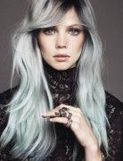 Long Straight Hairstyles: Peekaboo Hair Highlights   Popular Haircuts