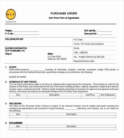 Example Of A Purchase Agreement In 2020 Resume Cover Letter