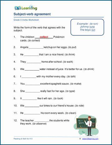 Verb Worksheets 3rd Grade 3rd grade verb tense worksheets