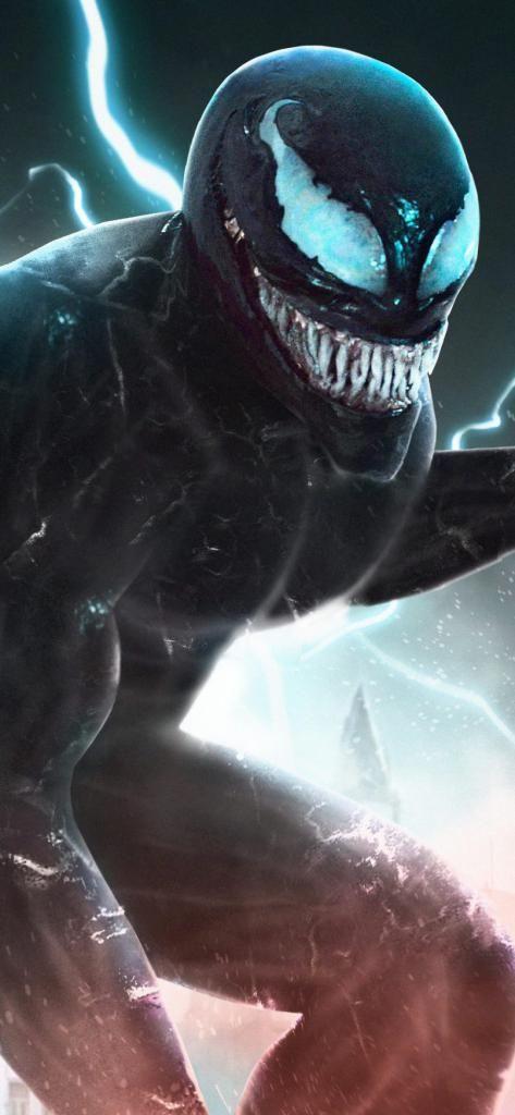 Best Wallpaper For Iphone X Venom Movie Artwork Iphone X 4k Hd Venom Movie Venom Comics Marvel Venom