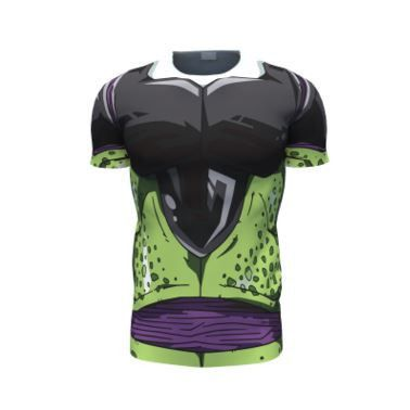 Perfect Cell DBZ Cosplay 3D Skin Gear Unique T-Shirt