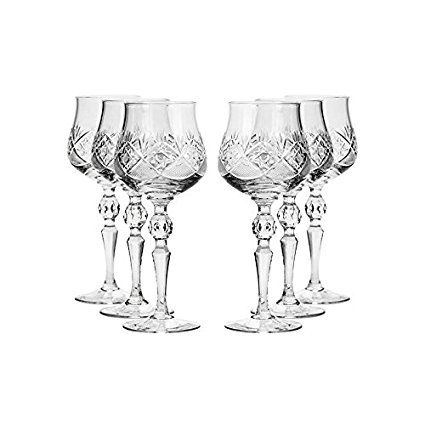 Clear 1.7 Ounce Circleware 42793 Tipsy Shot Glasses Set of 6 Limited Edition Whiskey Drinking Cups