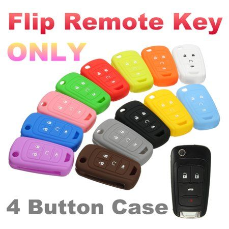 Kadell 4 Button Flip Remote Key Case Fob Protect Cover Shell Holder For Chevrolet Gm Colored All Color Red Matcc Orange With Images Protective Cases Chevrolet Orange Black