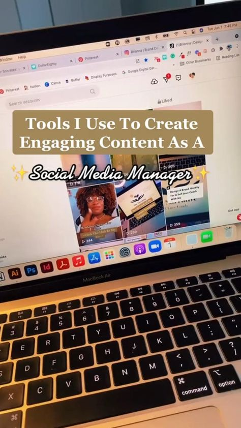Tools I Use To Create Engaging Content As A Social Media Manager