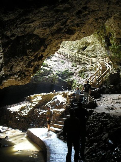 Maquoketa Caves in Iowa. These are some beautiful caves, have been many times.