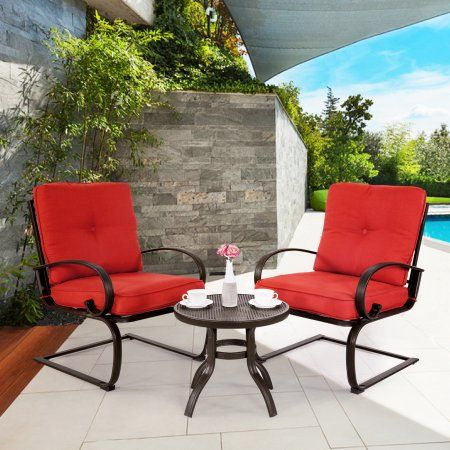 Patio Garden Bistro Table Set Bistro Set Cafe Furniture