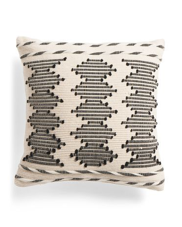 Made In Usa 20x20 Embroidered Pillow Throw Pillows T J Maxx Throw Pillows Pillows Aztec Pillows Pillows made in usa