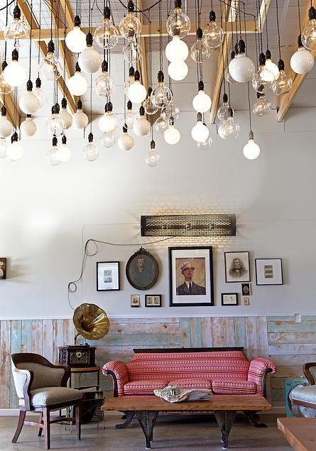 Austin interior design firm Lilianne Steckel Interior Design really knows  how to light up a room