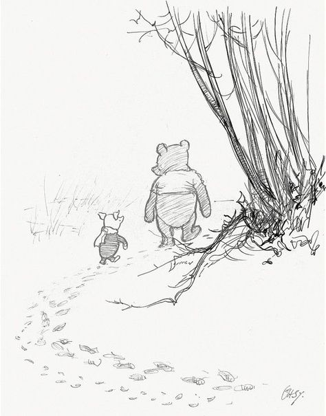 If there ever comes a day...  Winnie the Pooh Quotes - classic vintage style  poster print #04 -  - #classic #day #Pooh #poster #Print #Quotes #Style #VINTAGE #Winnie