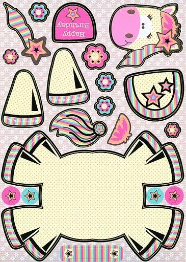6 Pezzi Perillas redondas de cer/ámica Patr/ón de animales de dibujos animados Tiradores de Muebles Pomo para Armario los cajones del tocador de la habitaci/ón infantil