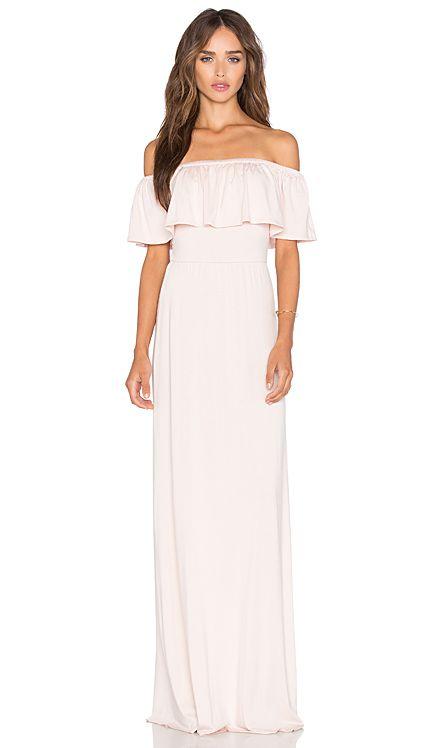 Rachel Pally Reston Maxi Dress in Champagne | REVOLVE