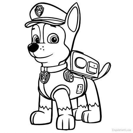 Dibujos De La Patrulla Canina Para Colorear Colorear Patrulla