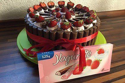 Yogurette Torte Yogurette Torte Kuchen Und Torten Yogurette