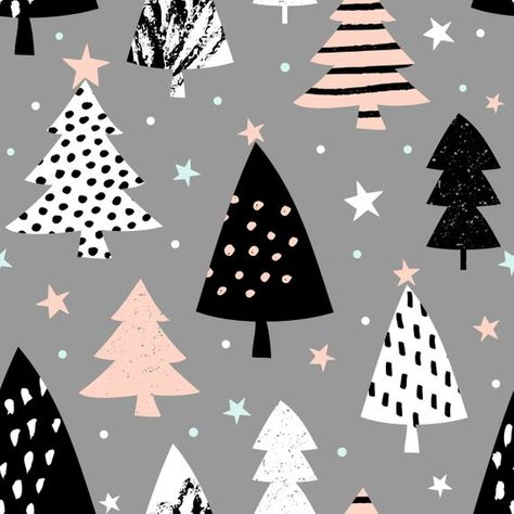 Wrapping Paper Sheets, Tree gift wrap, birthday gift wrap, Birthday, Poster by OliviaPaperCo on Etsy Cute Christmas Wallpaper, Christmas Background, Birthday Gift Wrapping, Gift Wrapping Paper, Wrapping Papers, Christmas Wrapping, Christmas Trees, Modern Christmas, Wall Art Designs