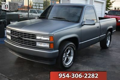 1991 Chevrolet C1500 Silverado Pickup Truck Old 1990 S Trucks For Sale Vintage Classic And Old Trucks Oldtrucks Vi Custom Silverado Silverado Chevrolet