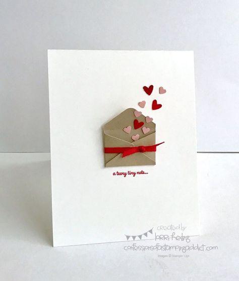Lorri Heiling Sealed with Love Bundle Stampin Up CASE of Krystie Lee's card