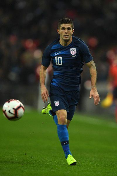 Christian Pulisic Photos Photos England Vs United States International Friendly In 2020 Christian Pulisic Christian Soccer Stars