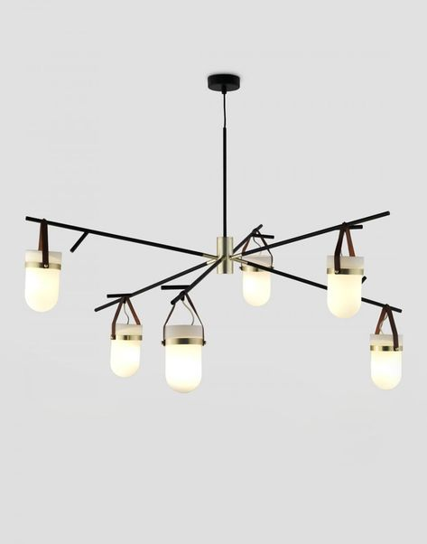 Simone 33 in. 5 Light Indoor Matte Black and Brushed Nickel Finish Chandelier with Light Kit