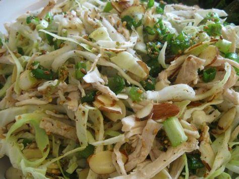 cabbage chicken salad - looks delicious yet healthy!