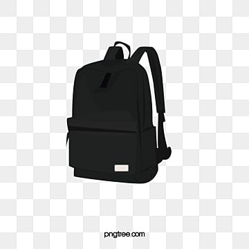 Backpack Backpack Clipart Black Product In Kind Png And Vector With Transparent Background For Free Download Travel Backpack Backpack Free Cartoon Backpack