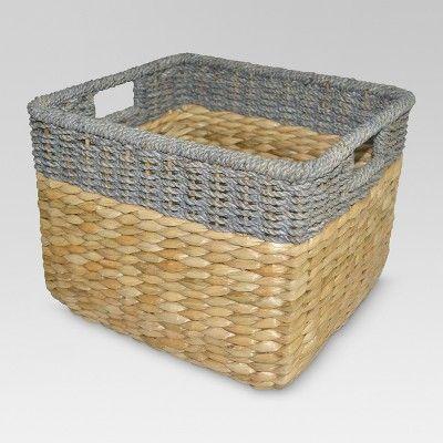 381528618a096768b41e168cbd0ed5ef - Better Homes And Gardens Woven Storage Bin Brown Durable Construction