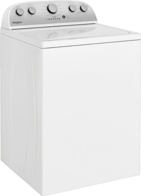 Whirlpool 3 9 Cu  Ft  12-Cycle Top-Loading Washer White