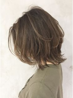とろみレイヤーボブ Ba86753 ヘアスタイル ヘアカット 髪型