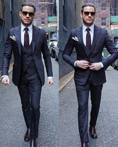 Costume pour homme - les dernières tendances en 50 photos! - Archzine.fr    costume   Pinterest   Costume cravate, Costumes pour hommes et Costumes 0e6b0425471