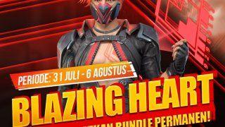 Event Blazing Heart Free Fire Bagikan 9 999 Diamond Gratis Kabargames 31 Juli Punisher Tanggal