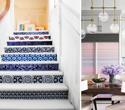 13 Creative Ways To Use Peel And Stick Wallpaper Decorating Tips Decor Creative Walls