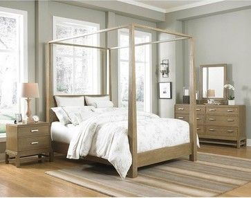 Broyhill Hampton Queen Poster Canopy Bed This Is The Bed We Have In The Room Now Canopy Bedroom Sets Modern Canopy Bed Canopy Bed Frame