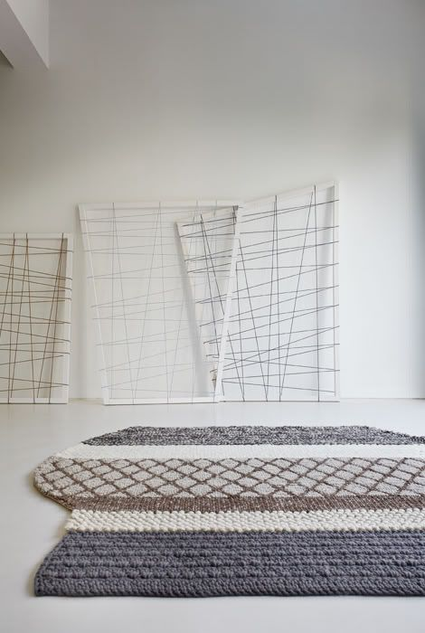 GAN Rugs - mangas by Patricia Urquiola | Modernist Fabrics, Textiles, Rugs,  Quilts | Pinterest | Patricia urquiola, Interiors and Shag rugs