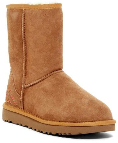 2341efae974 Classic Short Genuine Shearling Lined Rustic Weave Boot #textile ...