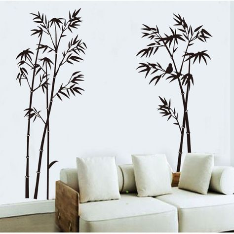 4b89b7a63c DIY Bamboo Tree Wall Stickers Removable Vinyl Decal Mural Home  Decoration(China (Mainland)) for home or school. Visual reminder it takes  time!
