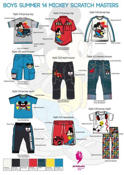 Boy's summer collection for international Wholesaler on Behance