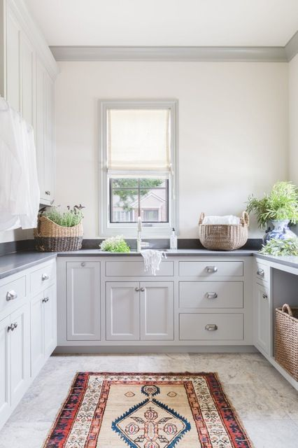 Friday Link Love Large Laundry Rooms Grey Laundry Rooms