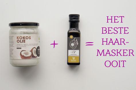 Zorg dat je altijd een good hair day hebt met dit natuurlijk, verzorgende en voedende DIY kokos- en avocado olie haarmasker.