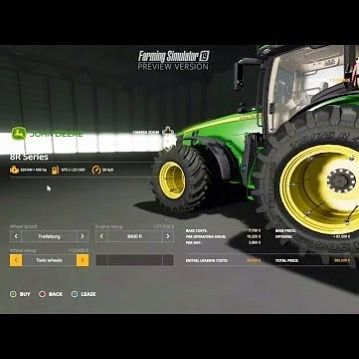 Some of the first FS19 gameplay demo videos are up on
