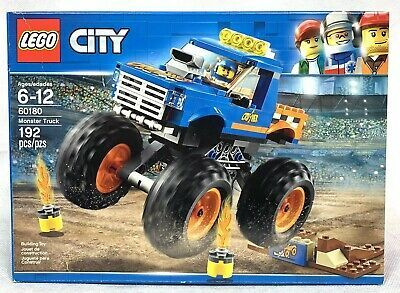 Lego City Monster Truck 60180 192 Pieces Brand New Gift For Kids Monster Trucks Lego City Lego City Sets