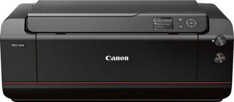 Canon Imageprograf Pro 1000 Wireless Inkjet Printer Black 0608c002 Best Buy Wireless Printer Inkjet Printer Printer