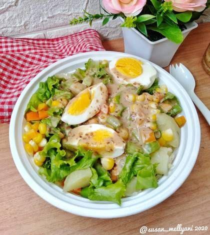 Resep Salad Sayur Oleh Susan Mellyani Resep Resep Salad Salad Sayur Salad