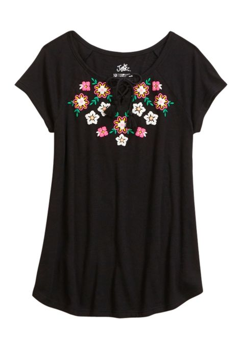 Girls' Fashion Tops & On-Trend Tees